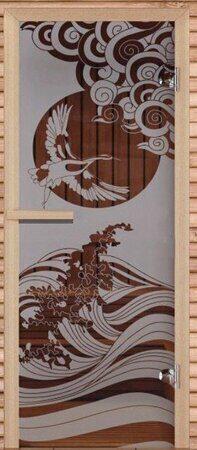 дверь журавль