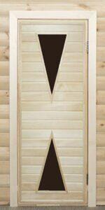 Дверь стекло треугольник