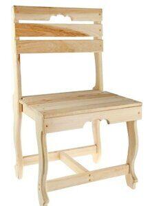 стул с фигурными ножками