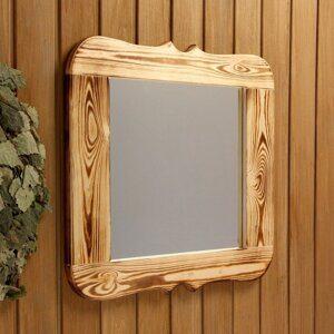 обожженное зеркало